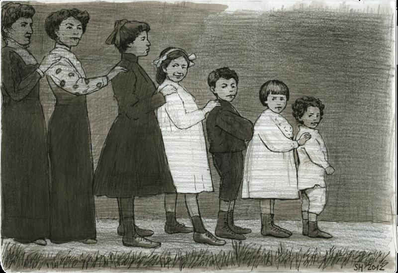 Familienaufstellung wie Orgelpfeifen
