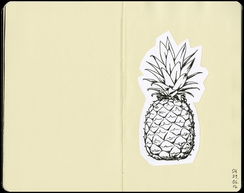 ganze Ananas