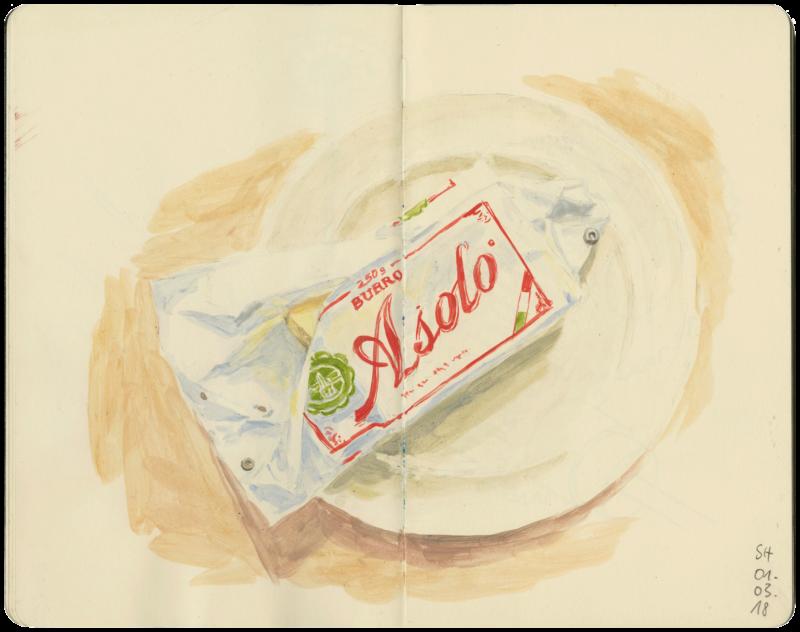 Italienische Butter