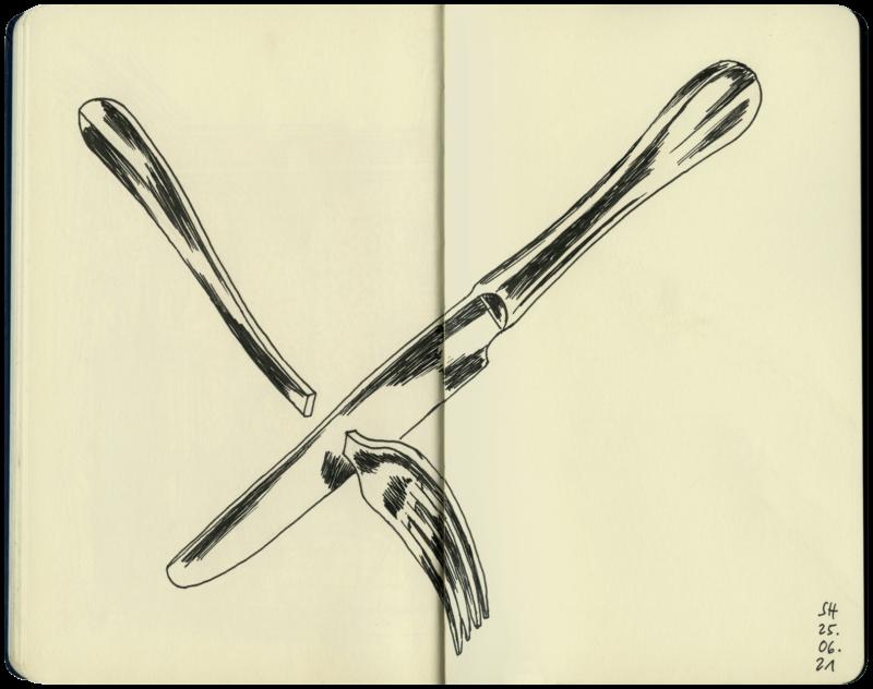 knife versus fork